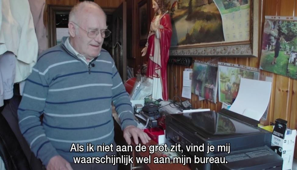 Louis en zijn computer
