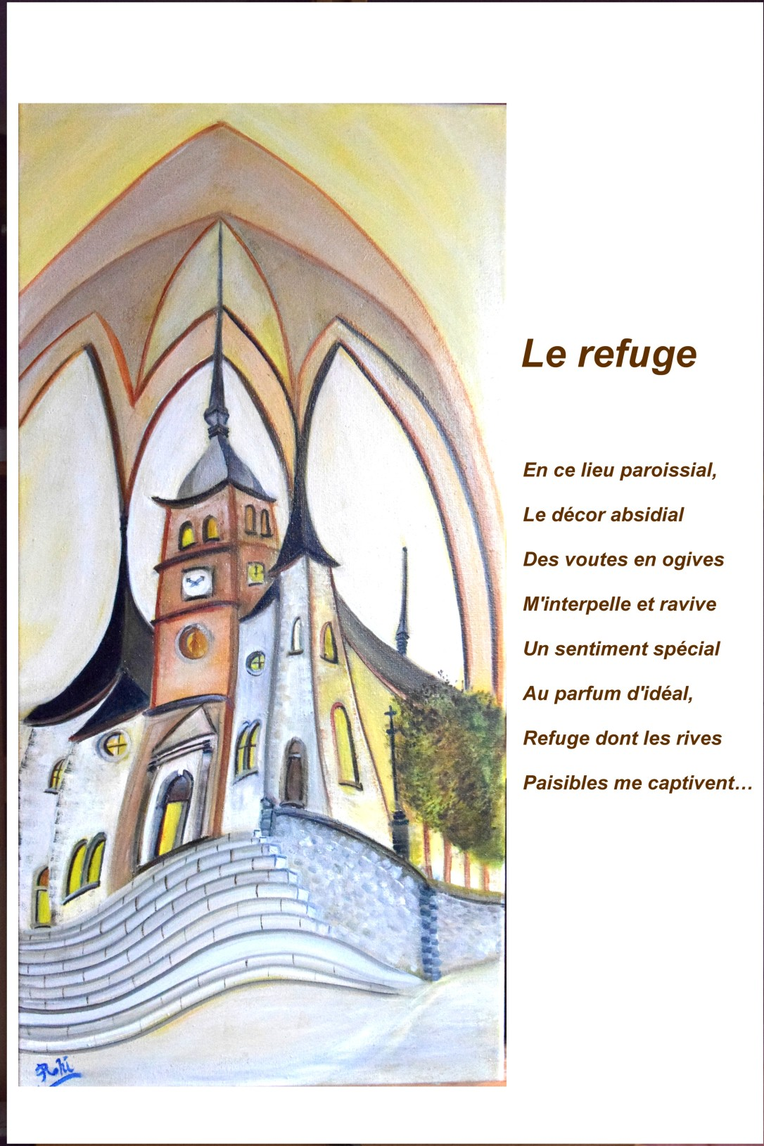 155 Le refuge texte